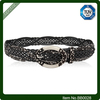 Leisure Wide Intertwine Bonde Leather Belt For Girl