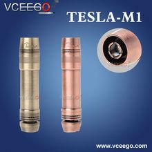Vceego new arriveal Metallic style tesla m1m2m3 mod tesla m1 mini e cigarette