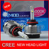 2014 New Cree Headlight Fog Lights 9005 HB3 12v car led lights