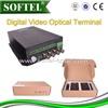 4-channel CCTV Fiber Optic Transceiver,video data converter