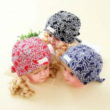 china wholesale fashion cotton baby bandanna cap