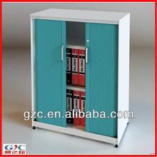 Two Roller Door Office Lockable Filing Cabinet