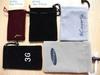 phone mini velvet drawstring bags
