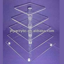 2014 venda quente da moda design pilar cake stand