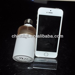 China supplier mini speaker bluetooth with led bulb for smartphone,laptop,tablet accessory