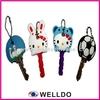 Guangzhou fashion custom rubber key covers plastic key covers