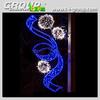 L200cm led motif light christmas outdoor decoration, Commercial decorations