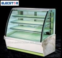 European style cake showcase,bakery cake display showcase,refrigerated cake display cases