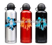 Wholesale aluminum water bottle sport water bottle/promotional bottle