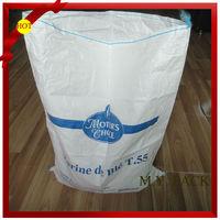 high quality offset printing flour bag/wheat flour bag 50kg/wheat flour packaging bags