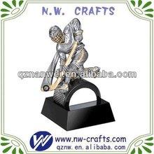 Resin hockey player figurines crafts