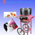 pink 220v 1050w algodão fabricante de doces floss máquina fornecimento kit carrinho