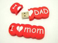 Lovely 3D PVC USB for work