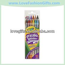 Erasable Twistables Colored Pencils, Assorted
