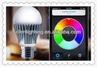 Led smart light bulb,WIFI LED bulb for Apple and android application
