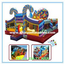 2014 popular/CE/sports/candy/inflatable fun city amusement park