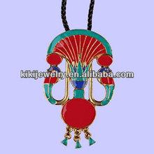 fashion cobra lotus pendant egyptian necklace jewelry
