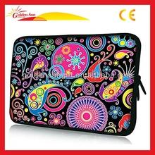 Fashion Customize Beautiful Portable Flower Neoprene Laptop Sleeve