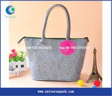hot sale huge sex appeal felt promotional tote bags