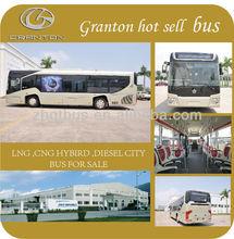 Granton 11m series new public bus LNG bus city bus GTZ6107 for global markets