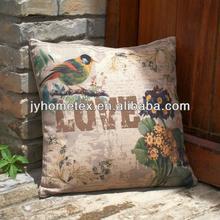 wholesales factory made printed cushion cover/cushioning/massager cushion