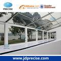 span 10m blanco de tela de la exposición al aire libre con mirador del piso