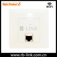 Hot sale 2.4ghz wireless mini inwall ap atheros with poe