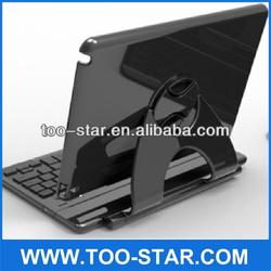 Wireless 360 Degree Rotation Bluetooth Keyboard for iPad