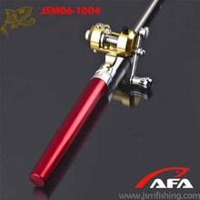 2014 Hot sale Mini Portable Pocket Pen Fishing Rod and Reel
