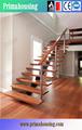 Fotos de barandilla de cable para las escaleras de interior de madera escaleras( pr- l39)
