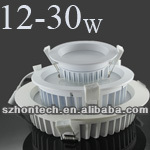 led downlight Kit 220v 13w Cutout90mm Samsung Epistar SMD5630 3.5 inch round led downlight kit