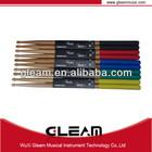 Hot colorful oak drumsticks