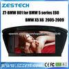 ZESTECH DVD Supplier 2 Din Touch screen Car Auto Part for BMW 5 series E60 X5 X6 Car Auto Part Dvd Gps Navigation autoradio gps