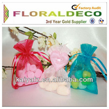Gift bag manufacture gift bag organza pouch bags wholesale for jewelry candy cosmetic