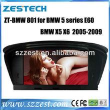 ZESTECH DVD Supplier 2 Din Touch screen Car Navigation for BMW 5 series E60 X5 X6 Car Navigation System autoradio dvd gps
