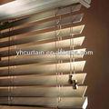Moda Manual de persianas venecianas de madera Natural de madera ciego