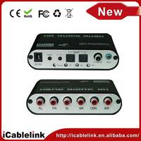 5.1/2.1Channel AC3/DTS Audio Gear Digital Surround Sound Rush Decoder Theater