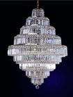 Decorative hotel small k9 chandelier crystal birdcage chandelier