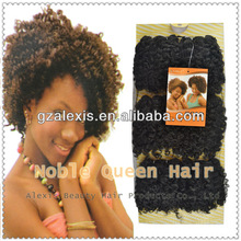 100% Noble Gold BLOOM CURL Synthetic Kinky Afro Hair Weave Extensions