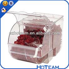 acrílico caixa de doces acrílico container