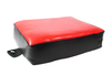 Taekwondo training gear red and black square taekwondo kick shield