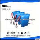 China supplier shenzhen OEM li-ion battery 7.4v 2500mah battery 2s1p pack for