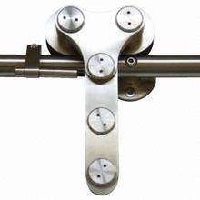 Acier porte coulissante rouleaux de roue