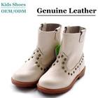 2014 HOT Fashionable Rivet Short Boots girls children shoes brand