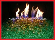 Hi Chipper broken diamond tempered fire glass