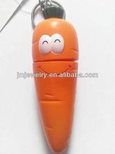 carrot pen and pendant key ring (J.M.Fashion)