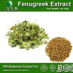 Medical Grade Pure Fenugreek Extract 50% Furostanol Saponin/Fenugreek Seed P.E.