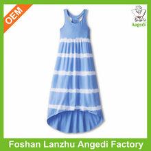 Short front long back dress for girls indian evening dress short