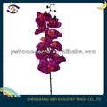 japonês flor artificial decorativa cabeça única orquídea borboleta fazendo