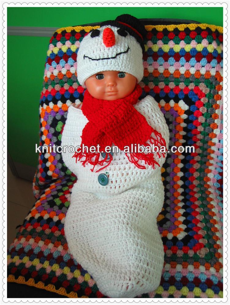 Crochet Snowman Baby Cocoon Pattern : Snowman Crochet Cocoon Photo Prop,Newborn Photo Props,Hand ...